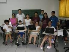 A ação é realizada em uma escola mantida pela APAE - Foto: Campus Nova Andradina