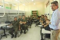 Curso de Segurança Eletrônica por Videomonitoramento tem como público-alvo oficiais do Exército.