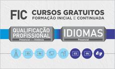 São ofertados cursos de Inglês, Espanhol, Libras, Desenhista de Topografia, Operador de Computador e Vendedor, presenciais e a distância, em 11 municípios.