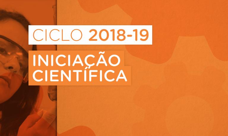Iniciação Científica e Tecnológica do IFMS - Ciclo 2018-2019