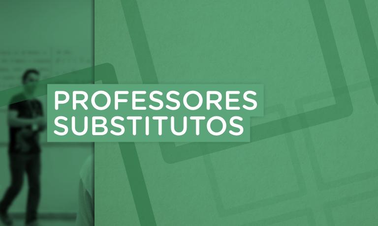 Professores substitutos