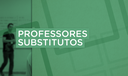 Professores substitutos